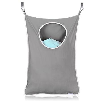 Amazon.com: SuperMom - Cesto para la colada con ganchos de ...