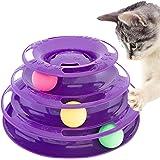 PURRFECT FELINE Titan's Tower, New Safer Bar Design, Interactive Cat Ball Toy, Exerciser Game, Teaser, Anti Slip, Active Heal