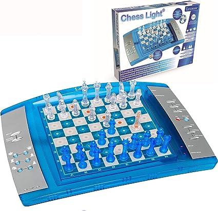 LEXIBOOK Ajedrez electrónico y luminoso con teclado sensitivo, juego de mesa, multiples niveles para principiantes y avanzados (LCG3000) , ...