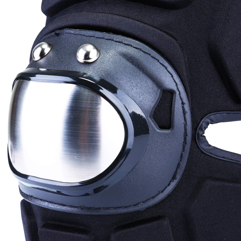 Genouill/ères Prot/ège-genoux Coussins en gel et Protections Imperm/éables en Mousse Eva Protections des Genoux Protection Velcro R/églable pour Moto Skateboard Travail Jardin Maison V/élo