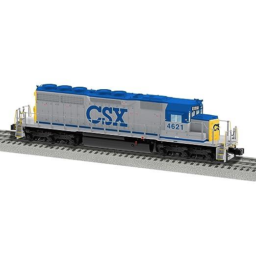 Amazon.com: Lionel CSX SD40 # 4621 tren: Toys & Games