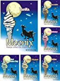 Moonix Freeze Dried Ice Cream. Variety pack. 5ct (Best Sellers)