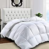 Lux Decor Collection King Comforter All Season Down Alternative Quilted with Corner Tabs - Duvet Insert - Hypoallergenic…