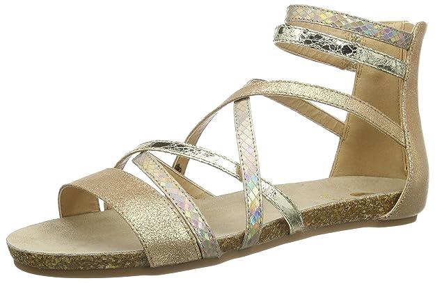 Silver Coloured Sandal, Womens Open Toe Sandals La Strada