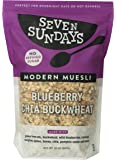 Seven Sundays Blueberry Chia Buckwheat Muesli Cereal {32 oz Value Pack, 1 Count} | Gluten Free Certified | Non GMO | No Refined Sugar | Kosher