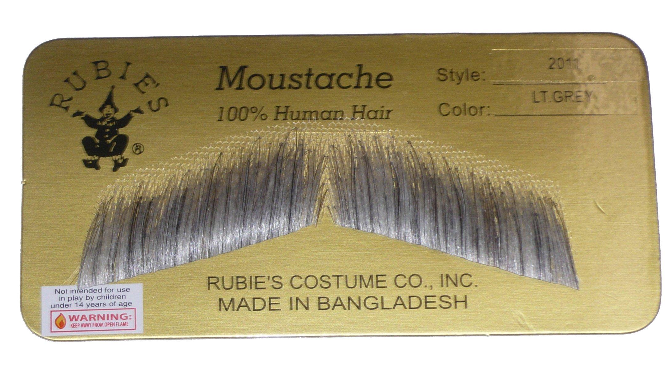 2011 (Light Gray) Gent Mustache
