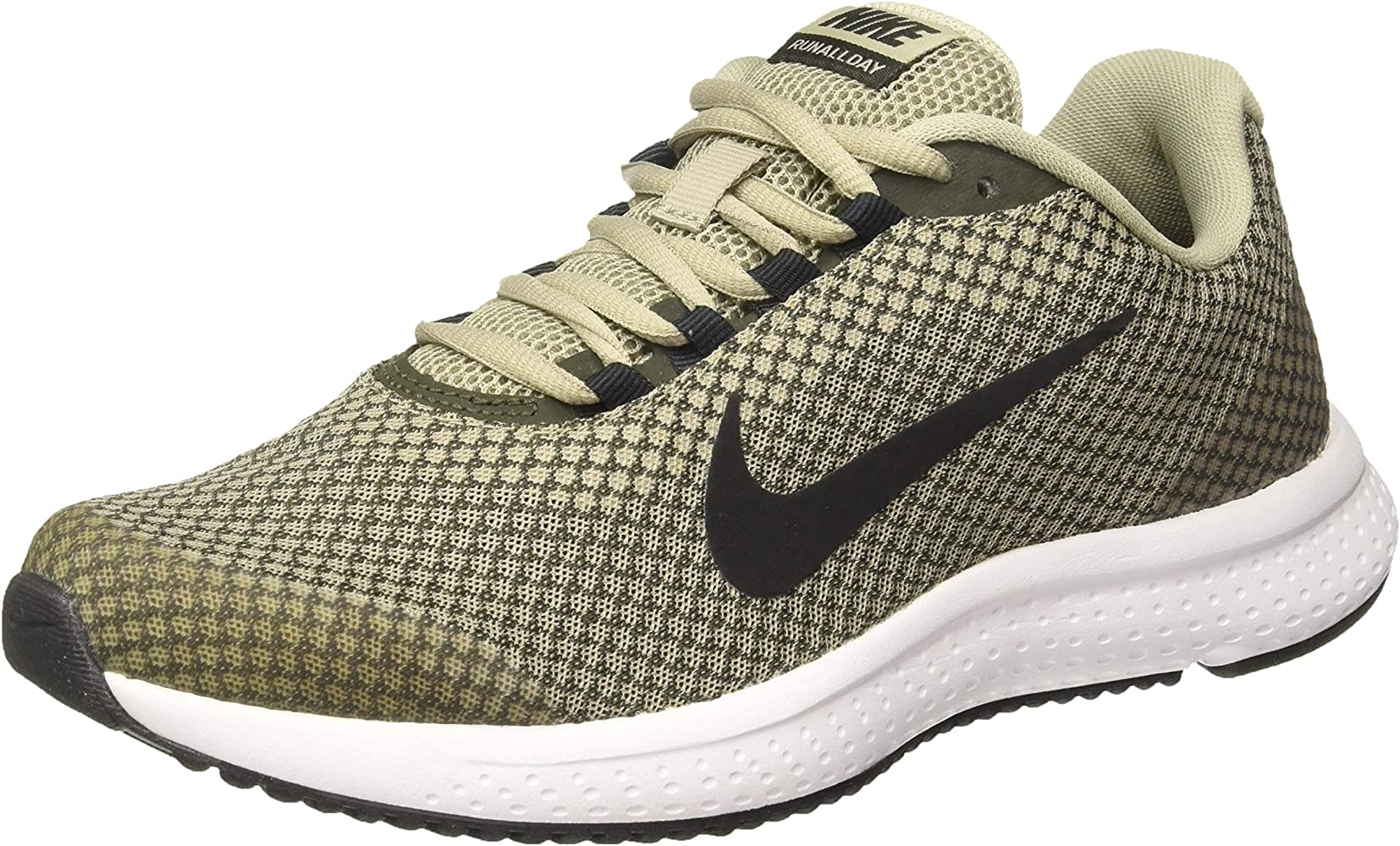 Nike RUNALLDAY, Zapatillas de Atletismo para Hombre, Multicolor (Spruce Fog/Black/Sequoia/White 300), 44.5 EU: Amazon.es: Zapatos y complementos