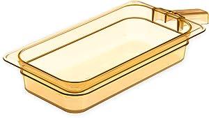 Carlisle 30860H13 StorPlus High Heat Food Pan with 1 Handle, 2.5