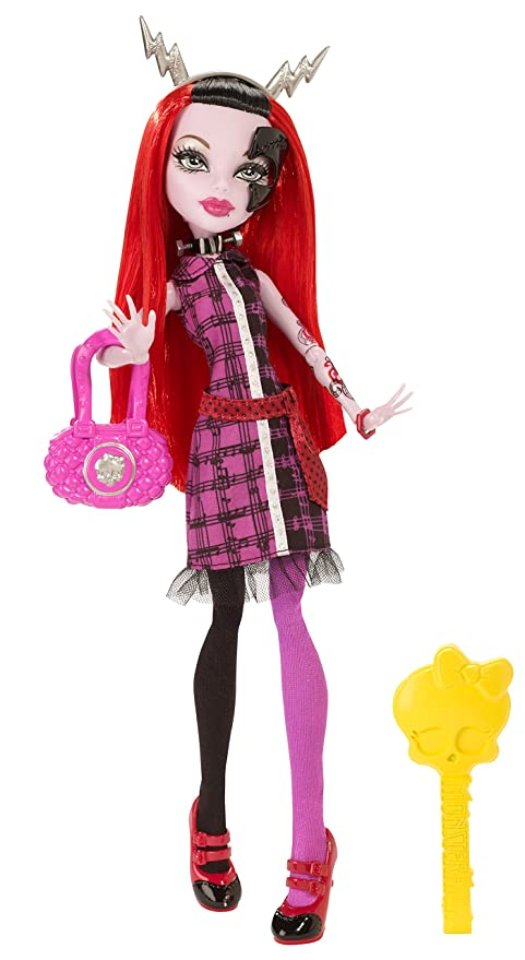 amazon com monster high freaky fusion operetta doll toys games