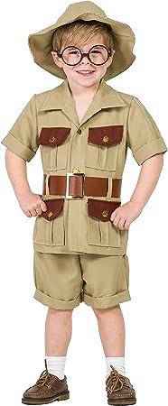 Disfraz Explorador 7-9: Amazon.es: Juguetes y juegos