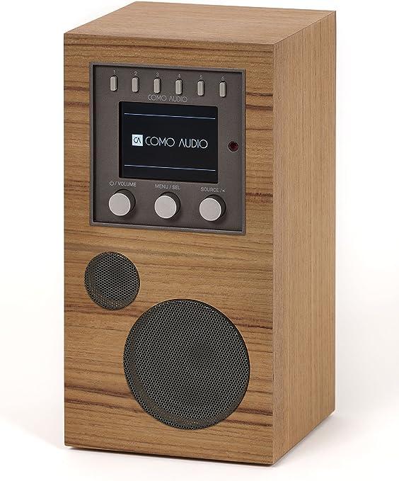 3 System Bundle Como Audio Whole Home Music Solution Walnut//Black