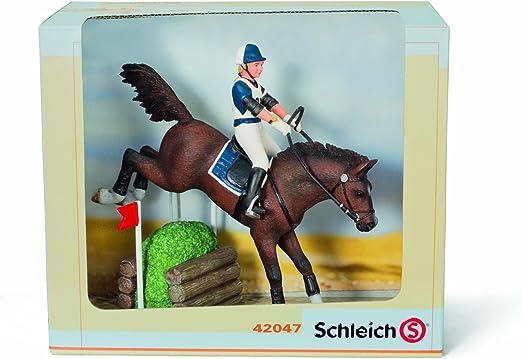 Schleich 42047 Pferdeset Vielseitigkeitsreiterei