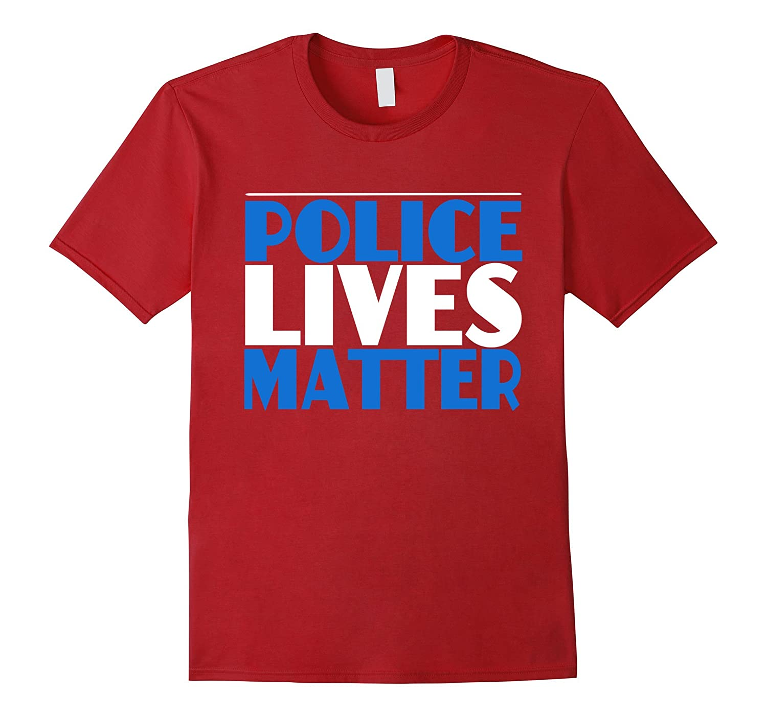 Police Lives Matter T-Shirt - Police Officers Dallas, TX-CL