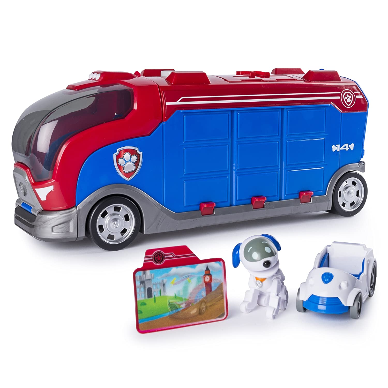 Amazon.com  PAW Patrol Mission Paw - Mission Cruiser - Robo Dog and  Vehicle 6ebc92f711e7