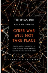 Cyber War Will Not Take Place Kindle Edition