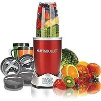 NutriBullet 12-Piece High-Speed Blender/Mixer System, 600 watts, Red
