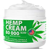 Hemp Cream 80000 mg Blend - All-Natural Seed Oil