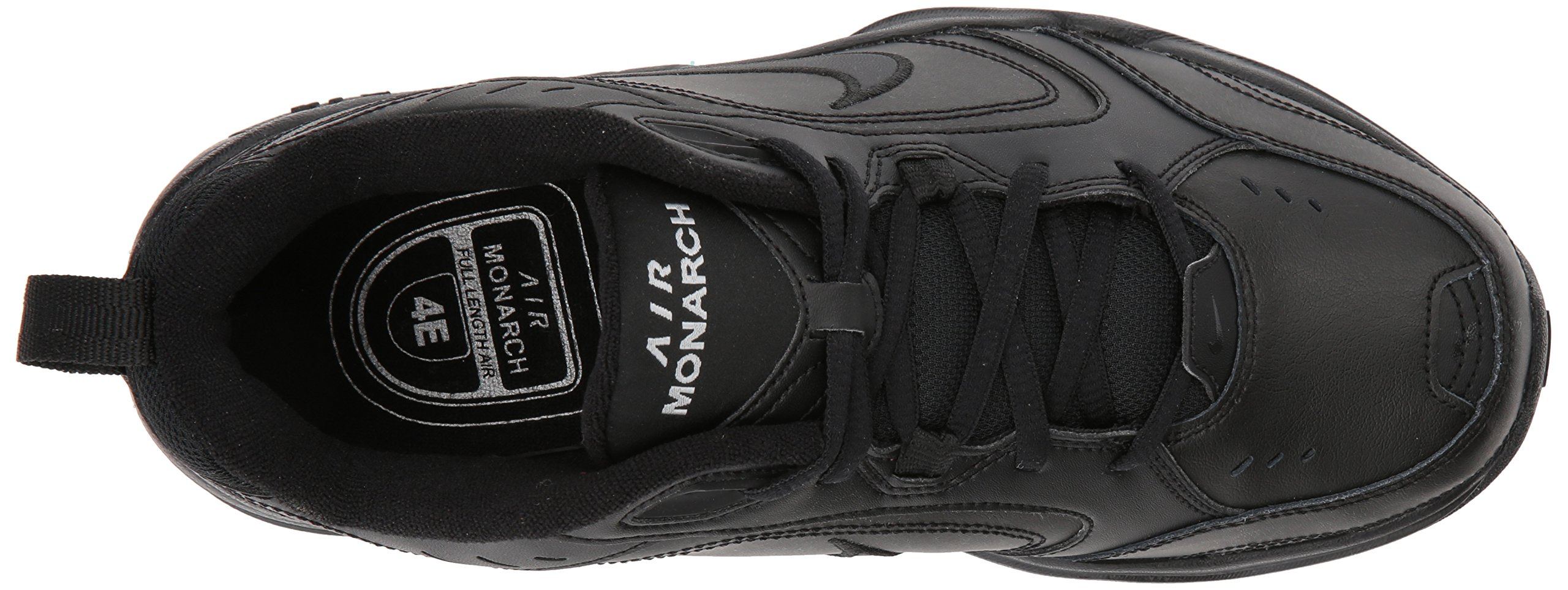 NIKE AIR MONARCH IV (MENS) - 6 Black/Black by Nike (Image #14)