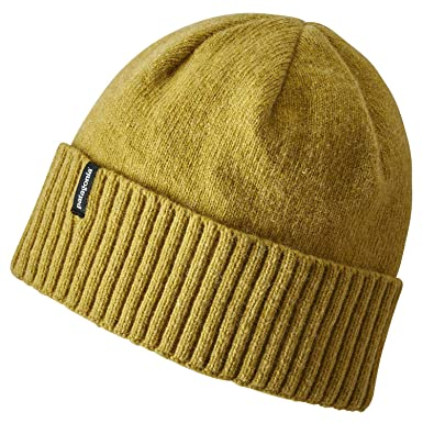 c6a49b7dc10 Patagonia Hats Brodeo Beanie Hat - Olive 1-Size  Amazon.co.uk  Clothing