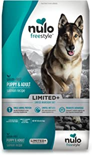Nulo Puppy & Adult Small Breed Freestyle Limited Plus Grain Free Dry Dog Food: All Natural Limited Ingredient Diet for Digest