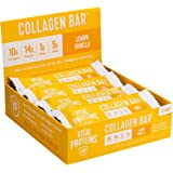 Collagen Protein Bars with MCTs - Vital Proteins Collagen Bars - 16-17g of Protein, 6-8g of Fiber, 4g of Sugar or Less Per Ba