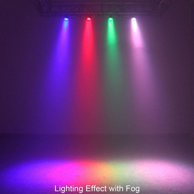 OTTFF COB DMX LED PAR Light DJ Stage Lighting Light RGB Show DMX