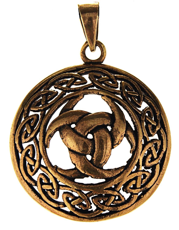 140 Odino Horn Ciondolo in bronzo N