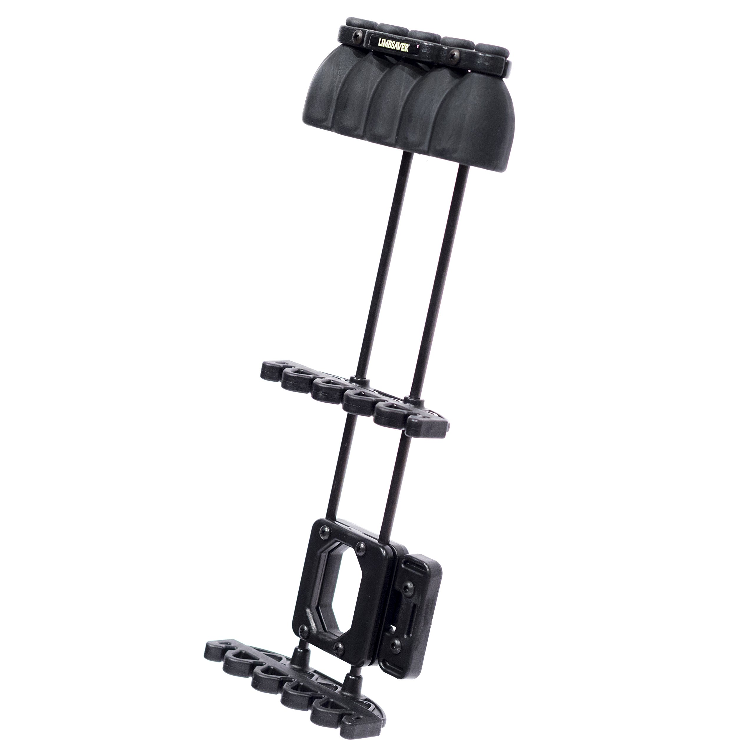 LimbSaver Silent Quiver for Bow Hunting, One Piece, Black
