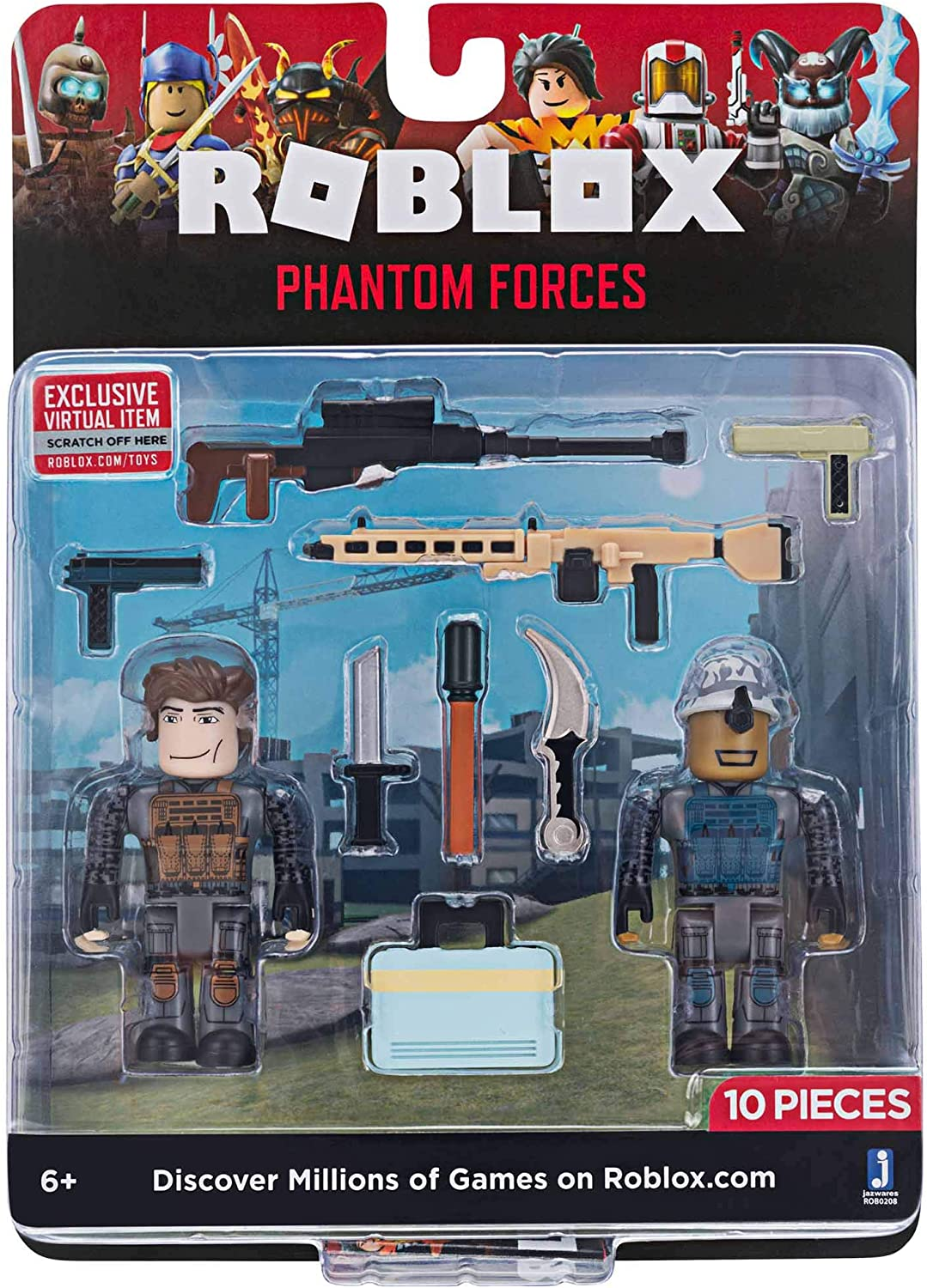 Amazon Com Roblox Action Collection Phantom Forces Game Pack