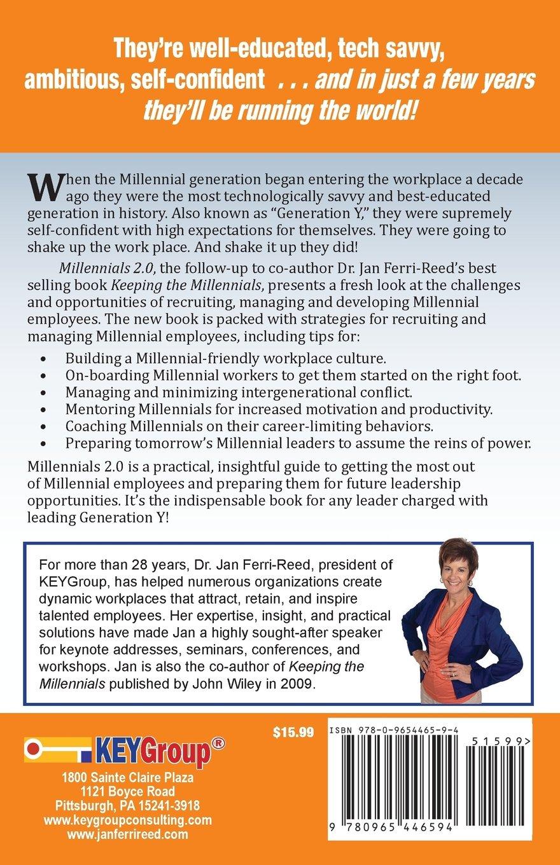 millennials empowering generation y jan ferri reed ph d millennials 2 0 empowering generation y jan ferri reed ph d 9780965446594 com books