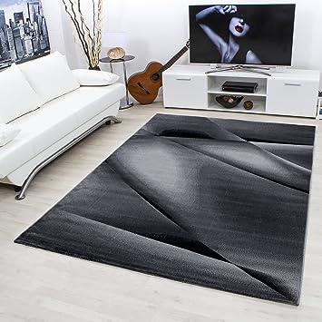 Carpetsale24 Teppiche Modern Designer Für Wohnzimmer, Esszimmer Oder  Schlafzimmer,kurzflor Wellenteppich Meliert Mit Modernen