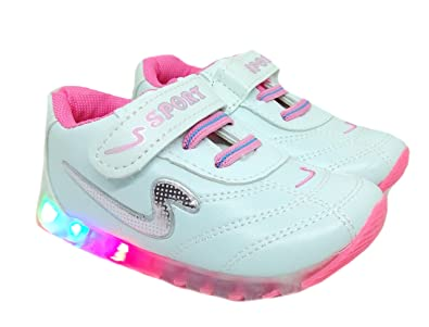 1feb4173ca TeeniTiny Light Shoes for Kids Boys Girls & Baby (18 Months - 24 Months)