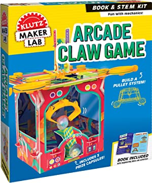 Arcade Claw Game: Maker Lab (Klutz STEM Kit)