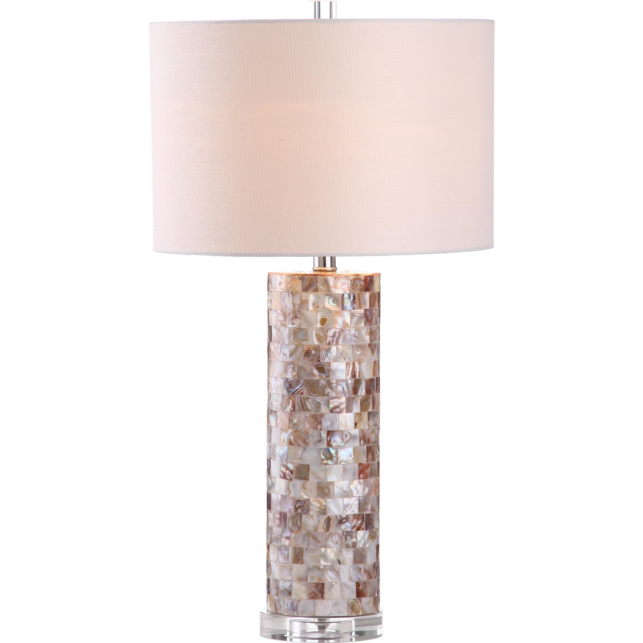 Safavieh Lighting Collection Boise Cream 28.9-inch Table Lamp (Set of 2)