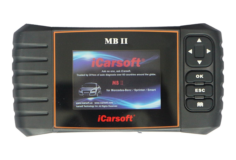 Programas de diagnóstico iCarsoft OBD2, Mercedes, iCarsoft MB II: Amazon.es: Coche y moto