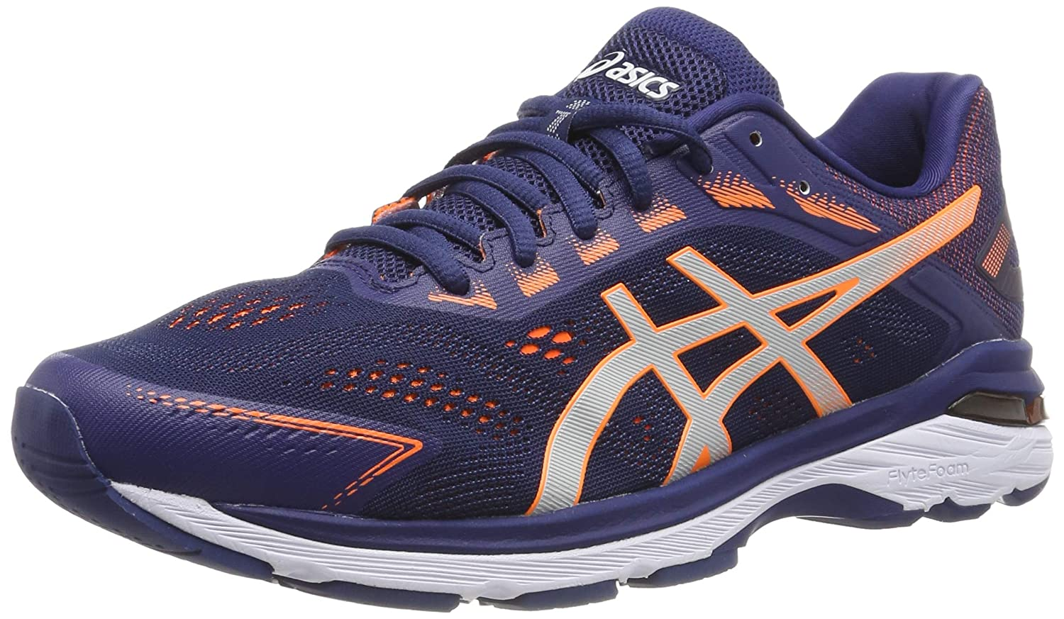 Amazon.com | Asics GT 2000 7 WIDE FIT (2E) Mens Running Shoes - Navy ...