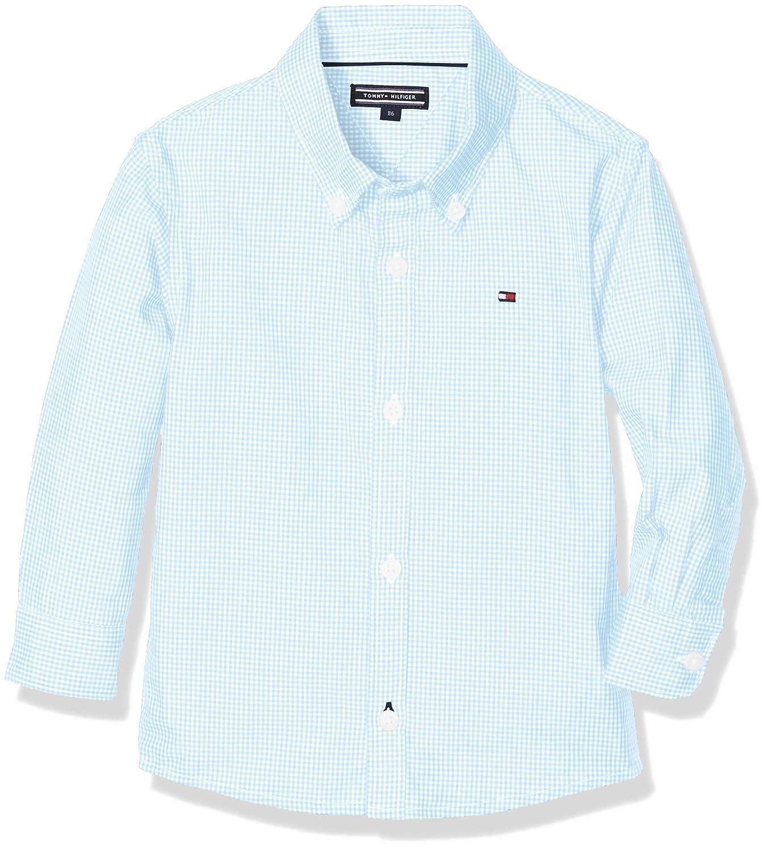 Tommy Hilfiger Mini Gingham Shirt L/S, Camicia Bambino KB0KB03878