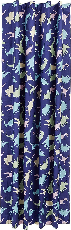 dinosaures Basics Rideau opaque de voyage /à ventouses pour enfant multicolore