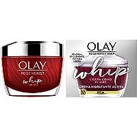 Olay Regenerist Whip Ligera Como El Aire Hidratante con SPF30, Crema facial con niacinamida y péptidos, 50 ml