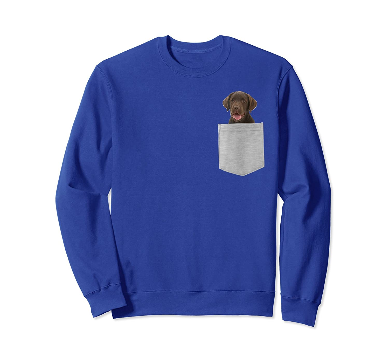 Chocolate Lab, Labrador Sweatshirt-ln