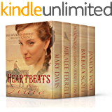 Heartbeats in Time: Five Novels of Old West Christian Romance