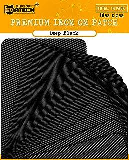 3-Pack Dritz Iron On Heavy Canvas Patches 5X5 2//Pkg Black 55245-3C Bulk Buy