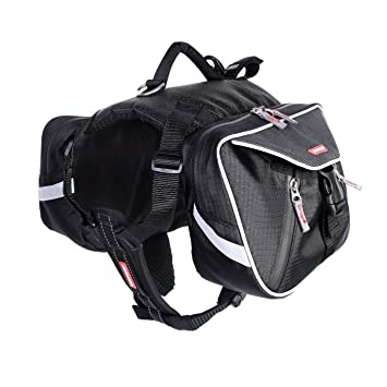 EzyDog Summit Dog Backpack, Large, Black: Amazon.co.uk: Pet Supplies
