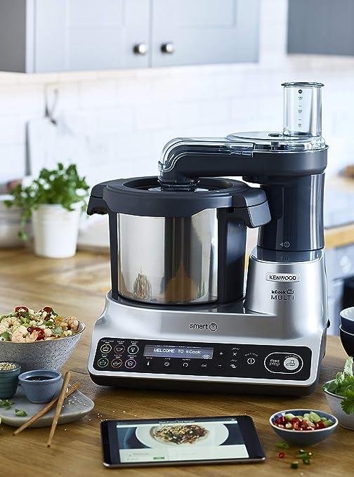 Kenwood kCook Multi Smart CCL450SI Robot de Cocina, Controlable ...