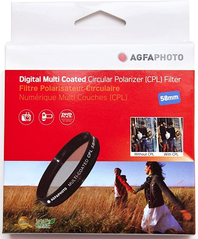 for Canon EOS 1v Circular Polarizer 62mm Digital Nc C-PL Multicoated Multithreaded Glass Filter