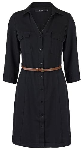 VERO MODA Damen Kleid Vmfrancy 3/4 Short Dress