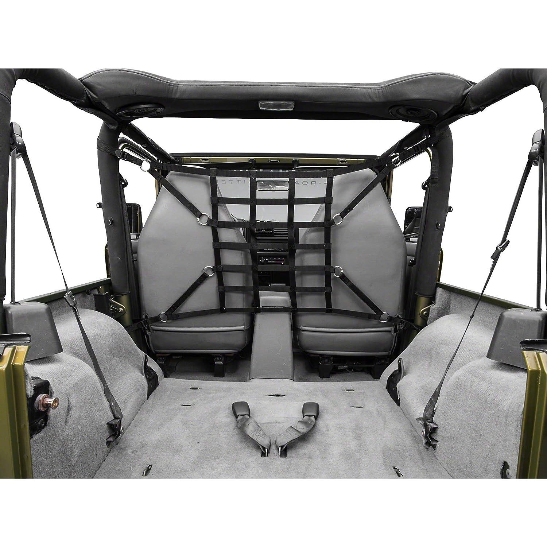 for Jeep Wrangler YJ /& TJ 1992-2006 Black TruShield Pet Barrier Net
