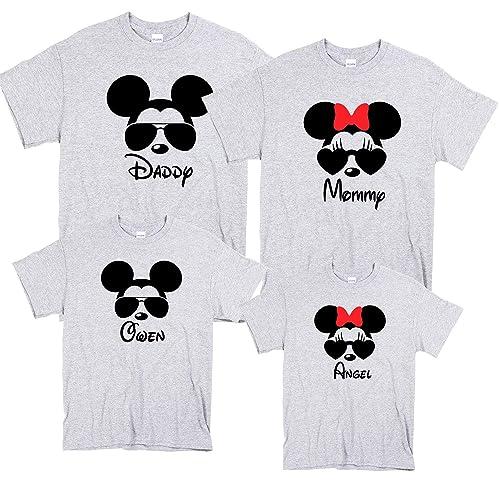 37ae4f4c Amazon.com: DISNEY Vacation Family Shirts, Matching Disney Family Shirts  2019, Disney Custom Shirts, T-shirts Disney Vacation, Disney Trip Tees:  Handmade