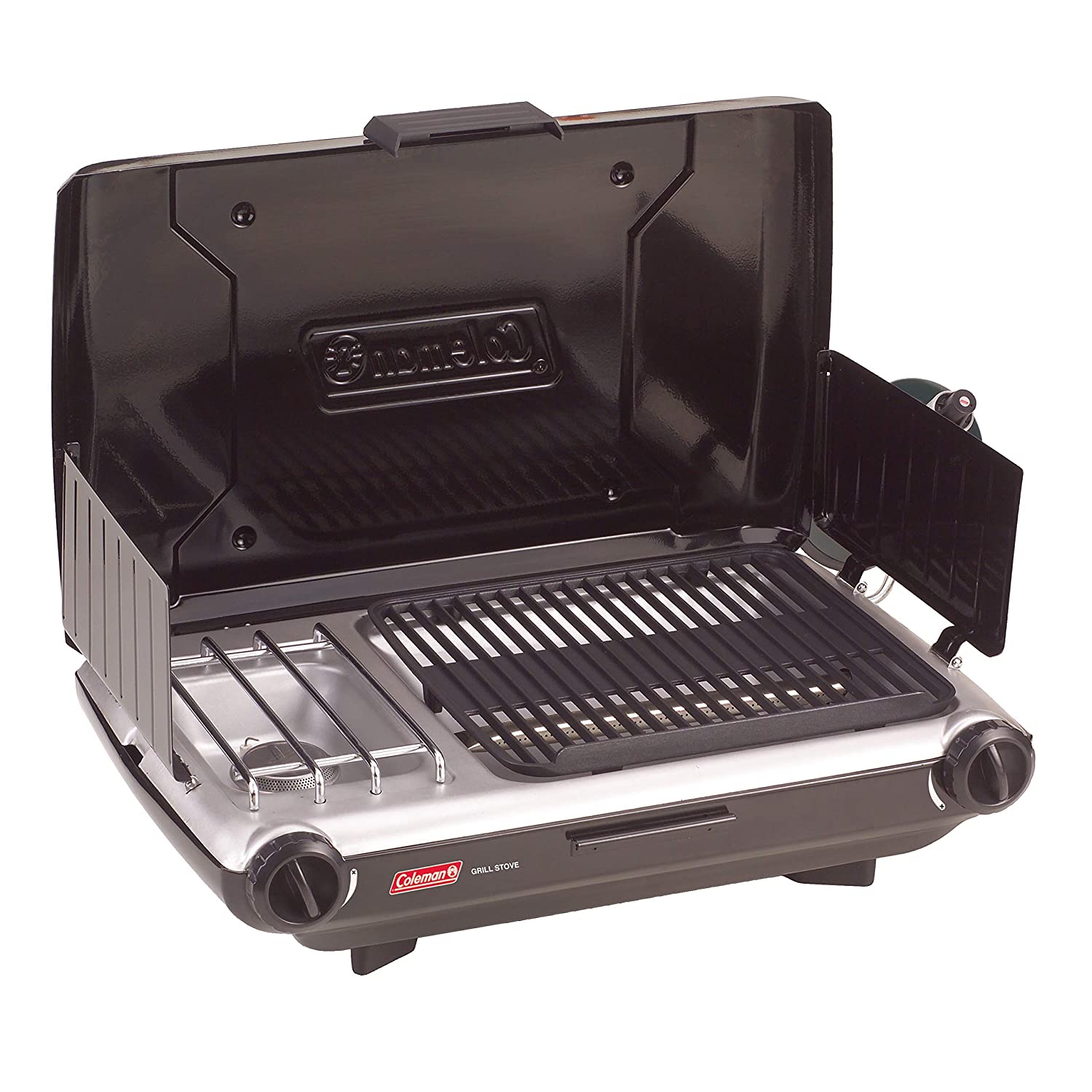 Coleman Camp Propane Grill/Stove (Certified Refurbished)