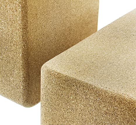 Juvale Cork Yoga Blocks - 2-Pack Yoga Block Set for Yoga ...